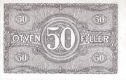 50 Fillér – reverse