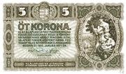 5 Korona – obverse