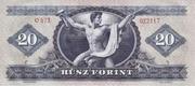 20 Forint – reverse