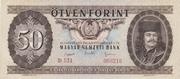 50 Forint – obverse