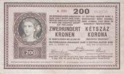 200 Korona – obverse