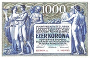 1000 Korona – obverse