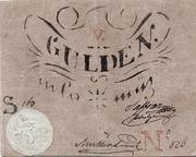 5 Gulden (Siege money, Arad) – obverse