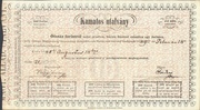 500 Forint (Interest Paying Legal Tender Treasury Bill) – obverse
