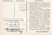 1 000 000 Adópengő (Tax note; 2nd edition) – reverse