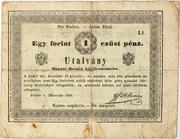 1 Forint (Almásy bankó) – obverse