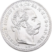 10 Krajczár - I. Ferenc József (Franz Joseph I; 1848/1867-1916 - Mule) -  obverse