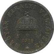 2 Fillér - IV. Károly (Karl IV - 1916-1918) -  obverse