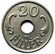 20 Fillér - Miklós Horthy – reverse