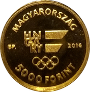 5000 Forint (XXXI. Olympic Games) -  obverse