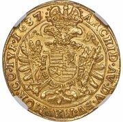 5 Ducat - II. Ferdinánd (1619-1637) -  obverse