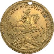 Token - S. Georgius Equitum Patronus / In Tempestate Securitas (Kremnitz) -  obverse