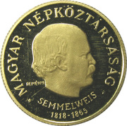50 Forint (Ignác Semmelweis) -  obverse