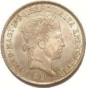 20 Krajczár - V. Ferdinánd (War of Independence Coinage) -  obverse