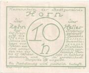 10 Heller (Horn) – reverse
