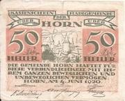 50 Heller (Horn) -  obverse