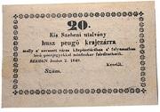 20 Pengő Krajczár (Kisszeben) – obverse