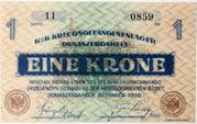 1 Korona (POW Camp; Dunaszerdahely) – reverse