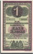 1 Korona (POW Camp; Sopronnyék) – obverse