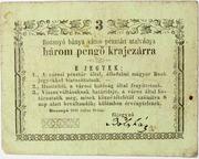 3 pengő Krajczár (Rozsnyó) – obverse