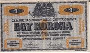1 Korona (POW Camp; Ostffyasszonyfa) – obverse