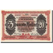 20 Fillér (POW Camp; Nezsider) – reverse