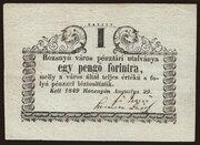 1 Forint (Rozsnyó) – obverse