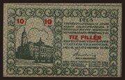 10 Fillér (Pécs) – obverse