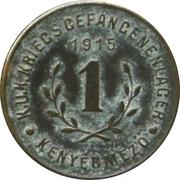 1 Fillér - Kenyérmező (CS. ÉS KIR. Hadifogolytábor) – reverse