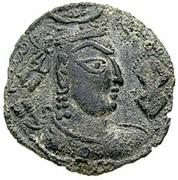 Drachm - Zabolo/Zabocho (Lord of Zabul) (Hadda-Gandhara mint) – obverse