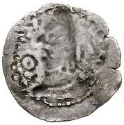 Drachm - Deva Shahi Khingila (bilingual type, India territory mint) – reverse