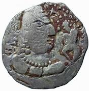 Drachm - Toramana (Type 90, Gandhara mint) – obverse