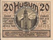 20 Pfennig (Kleinsiedlung Nordmark) – obverse