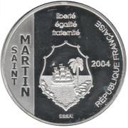 1½ Euro (Saint Martin) – obverse