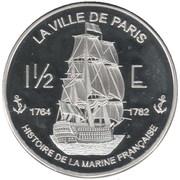 1½ Euro (Saint Martin) – reverse