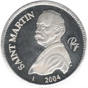 ¼ Euro (Saint Martin) – obverse
