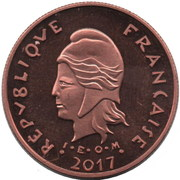 100 Francs (Île Tintamarre) – obverse