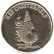 1 Franc (Chesterfield islands) – obverse