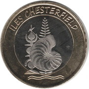 100 Francs (Chesterfield islands) – obverse