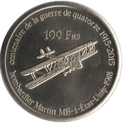 100 Francs (Glorieuses) – reverse