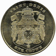 1 Crown (Shire horse) – obverse