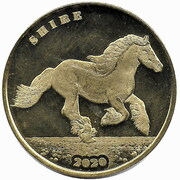 1 Crown (Shire horse) – reverse