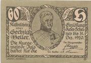60 Heller (Igls) – reverse