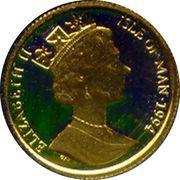 1/20 Angel - Elizabeth II (Archangel Michael) – obverse