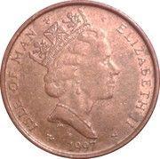 1 Penny - Elizabeth II (3rd portrait) -  obverse