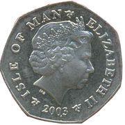 50 Pence - Elizabeth II (Christmas) -  obverse
