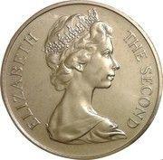 1 Crown - Elizabeth II (2nd portrait) -  obverse