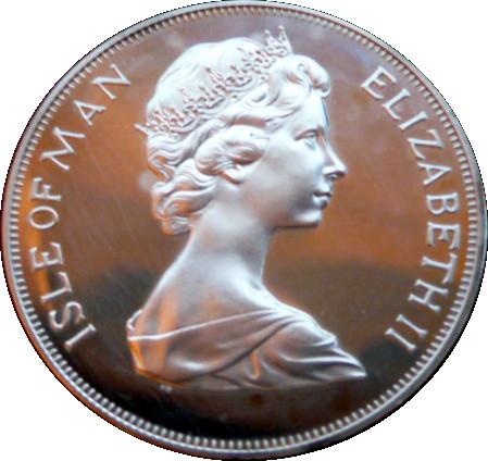 1 Crown - Elizabeth II (Silver Jubilee, Silver Proof Issue