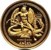 1 Angel - Elizabeth II (Archangel Michael) – reverse