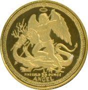 1/20 Angel - Elizabeth II (Archangel Michael) – reverse